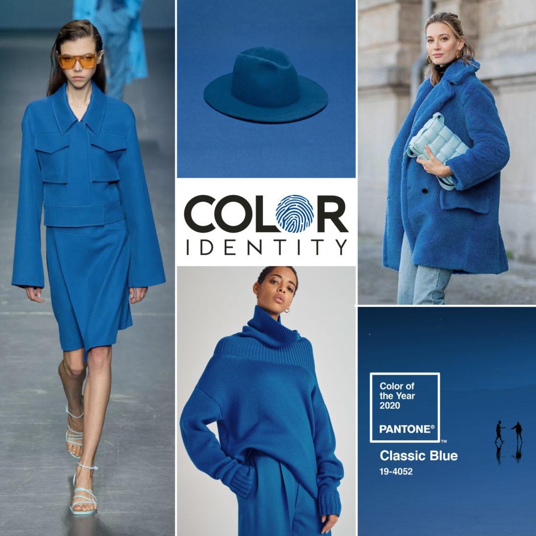 Kleur van het jaar 2020 Classic Blue