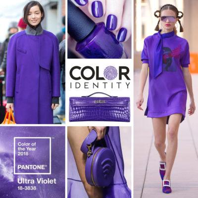 Kleur van het jaar 2018 Ultra Violet