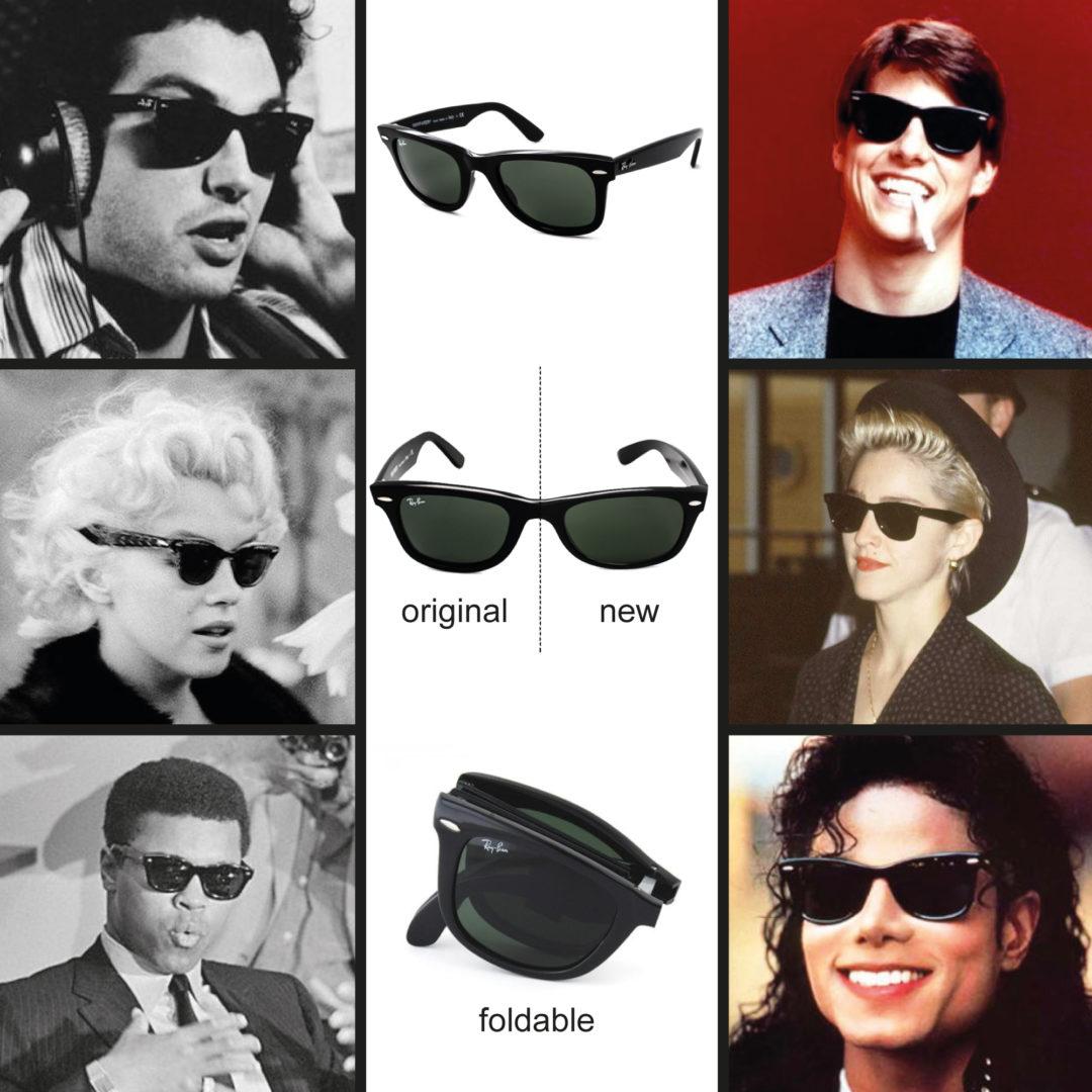Een ultieme klassieker: Wayfarer zonnebril