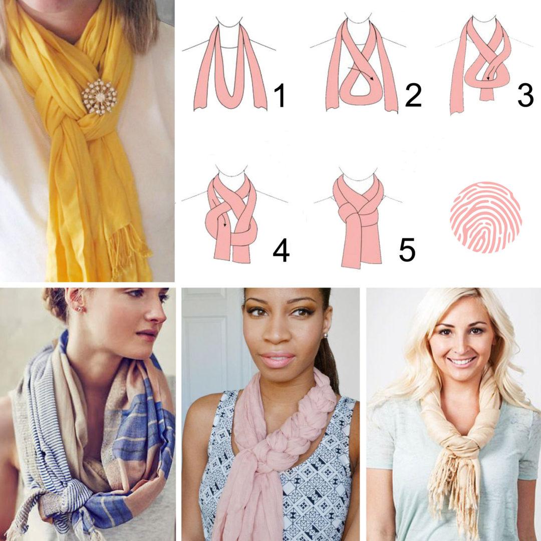 Hoe draag je een shawl