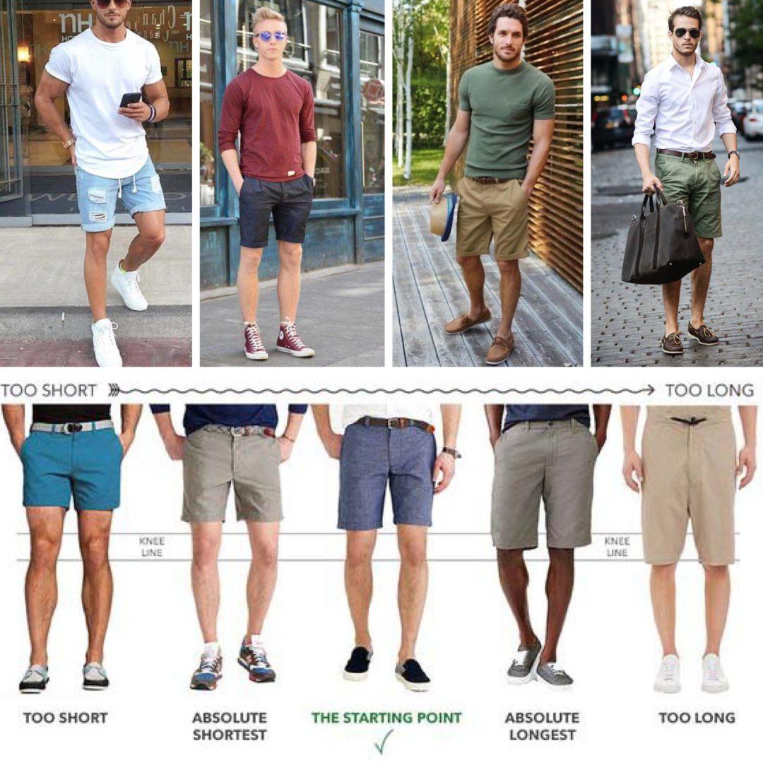 Korte broeken voor mannen