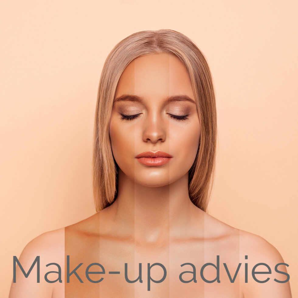 Close-up portrait of nice attractive blonde naked nude lady with pure perfect flawless smooth soft shine skin different color parts closed eyes bronze blusher isolated over pastel gray background