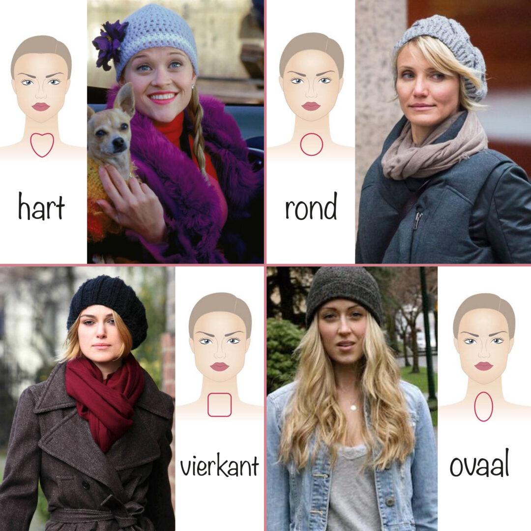 Welk model muts past het beste bij jouw gezichtsvorm?