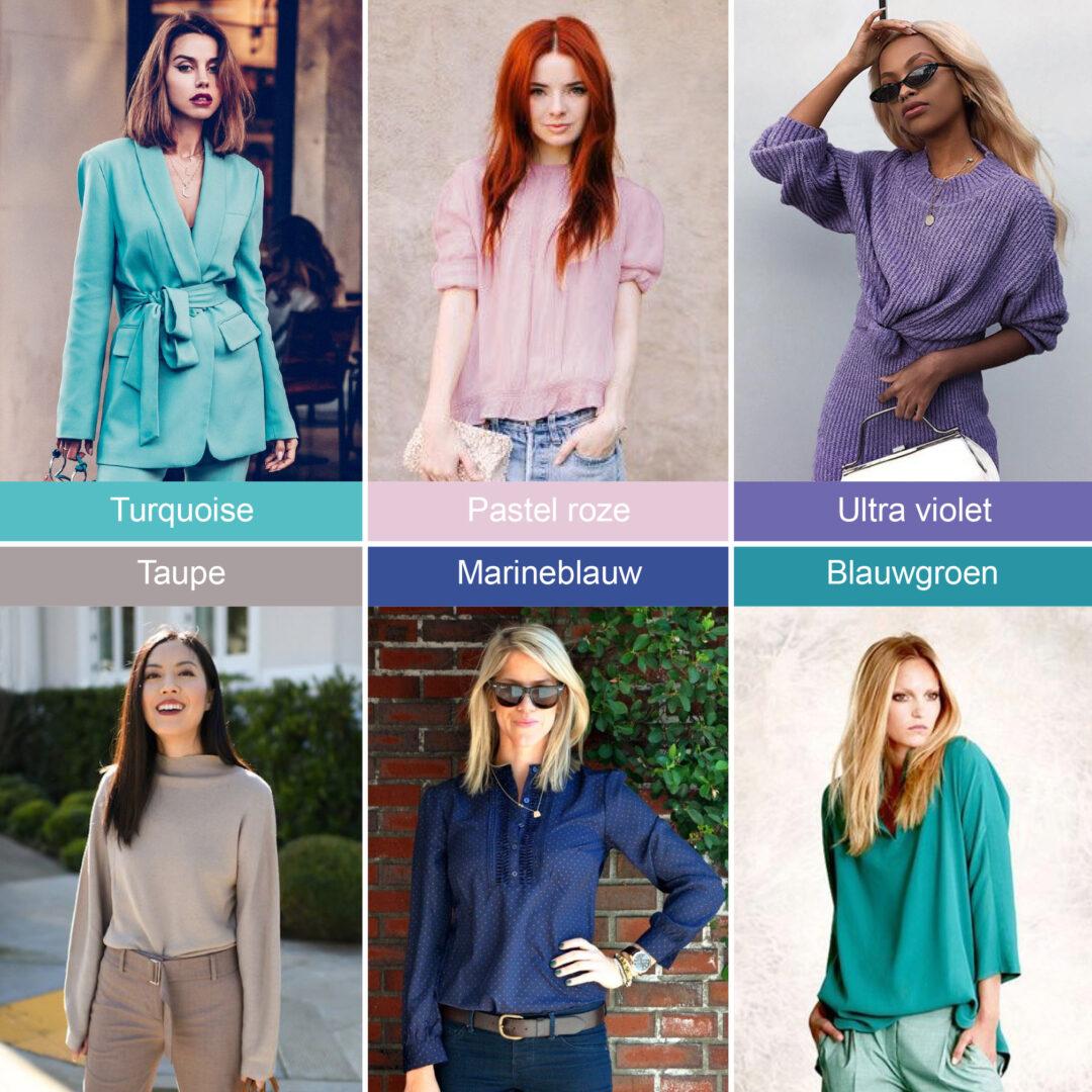 Welke kleuren kan iedereen dragen?