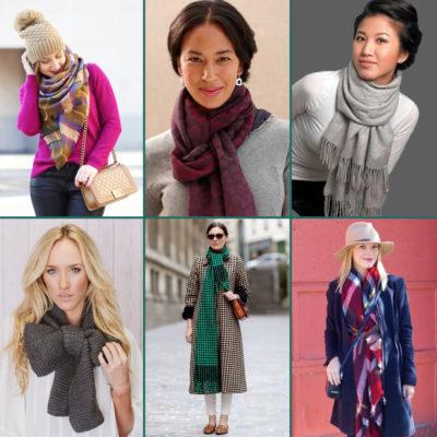 De sjaal, een geweldige accessoire!